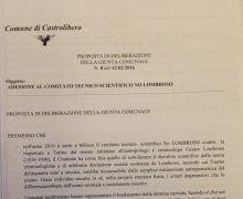 La Città di Castrolibero è Testimonial del Comitato No Lombroso