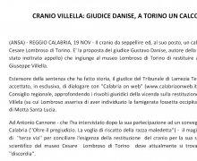 CRANIO VILLELLA: GIUDICE DANISE, A TORINO UN CALCO IN GESSO