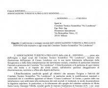L'Associazione Turistica PRO-LOCO Sonnino h aaderito al Comitato No Lombroso