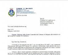 Adesione della Giunta comunale della Città di Malgrate alle iniziative e agli scopi del Comitato Tecnico Scientifico