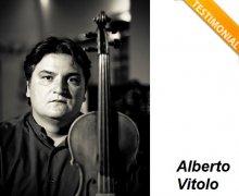 Alberto Vitolo è Testimonial del Comitato No Lombroso
