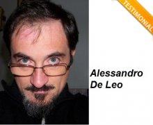 Alessandro De Leo è Testimonial del Comitato No Lombroso