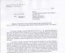 Comunicazione da parte del Sindaco di Altavilla Milicia