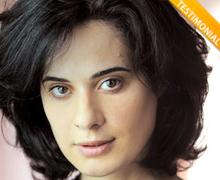 L'attrice Annalisa Insardà è Testimonial del Comitato No Lombroso
