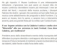 """Eugenio Bennato: """"L'ignoranza non puo' avere un museo…"""""""