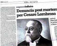 Denuncia post mortem per Cesare Lombroso