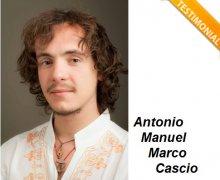 Antonio Manuel Marco Cascio è Testimonial del Comitato No Lombroso