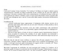 La Città di Isola di Capo Rizzuto (KR) ha aderito al Comitato No Lombroso
