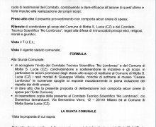 La Città di Rionero in Vulture (PZ) ha aderito al Comitato No Lombroso