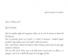 Dichiarazione dell'Associazione Terraurunca