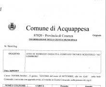 La Città di Acquappesa (CS), ha aderito al Comitato No Lombroso
