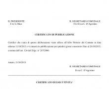 La Città di Amato (CZ) ha aderito al Comitato No Lombroso