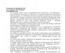 Adesione della Città di Aversa (CE) al Comitato No Lombroso