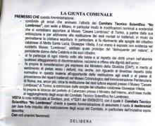 La Città di Badolato (CZ) ha aderito al Comitato No Lombroso