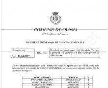 La Città di Crosia (CS) è Testimonial del Comitato No Lombros