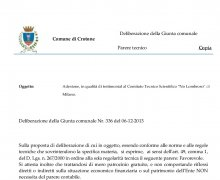 La Città di Crotone ha aderito al Comitato No Lombroso