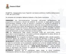 Cancellazione ad Eboli della strada intitolata a Cesare Lombroso parte B