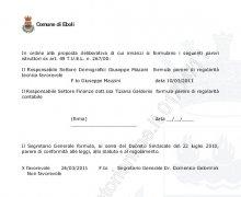 Cancellazione ad Eboli della strada intitolata a Cesare Lombroso parte E