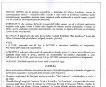 La Città di Gimigliano (CZ) ha aderito al Comitato No Lombroso