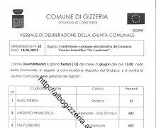 Adesione della Città di Gizzeria (CZ) al Comitato No Lombroso