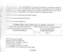 La Città di Longobardi (CS) ha aderito al Comitato No Lombroso