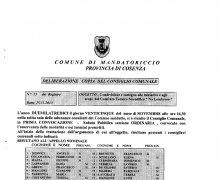 La Città di Mandatoriccio (CS) ha aderito al Comitato No Lombroso
