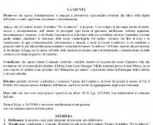 La Città di Miglierina (CZ) ha aderito al Comitato No Lombroso