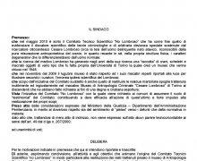 Adesione della Città di Mirabello Sannitico (CB) al Comitato No Lombroso
