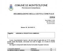 Adesione della Città di Montecilfone (CB) al Comitato No Lombroso