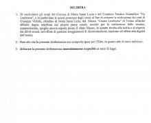 Adesione della Provincia di Catanzaro al Comitato No Lombroso