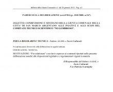 La Città di San Marco Argentano è Testimonial del Comitato No Lombroso