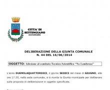 La Città di Settingiano (CZ) ha aderito al Comitato No Lombroso
