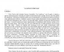 Adesione della Città di Tiriolo (CZ) al Comitato No Lombroso