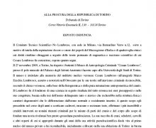 Esposto/Denuncia alla Procura della Repubblica di Torino parte A