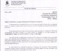 Adesione della Giunta comunale della Città di Bucciano alle iniziative e agli scopi del Comitato Tecnico Scientifico