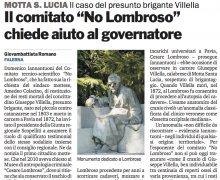 Il caso del presunto brigante Villella...