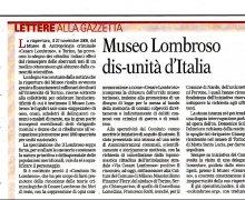 Museo Lombroso dis-unità d'Italia
