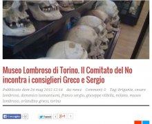Museo Lombroso di Torino. Il Comitato del NO incontra i consiglieri Greco e Sergio