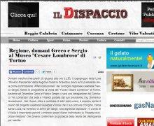 Regione, domani Greco e Sergio al Museo
