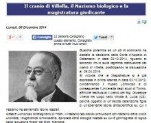 Il Cranio di Villella, il Nazismo biologico e la magistratura giudicante