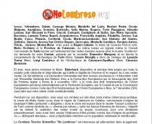 Istanza di adesione al Comitato No LOmbroso presso la Città di Montreal