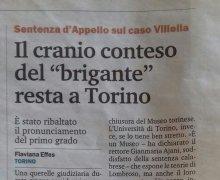 """Il cranio conteso del """"brigante"""" resta a Torino"""