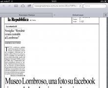 Museo Lombroso, una fotografia su Facebook riaccende la polemica sul cranio conteso