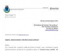 La Città di Binetto (BA) ha aderito al Comitato No Lombroso