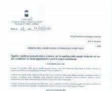 Adesione della Città di Napoli agli scopi del Comitato No Lombros