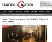 Museo Cesare Lombroso, Patriciello (FI): Offende i valori dell'Ue