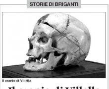 Il cranio di Villella alla casa del Cinema