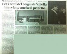 Per i resti del brigante Villella interviene anche il prefetto