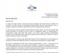Risposta di ICOM al Comitato No Lombroso