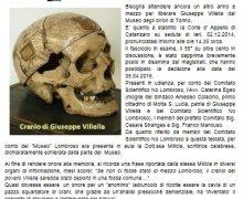 Cranio di Villella: La Cirte d'Appello di Catanzaro rimanda ad aprile 2016